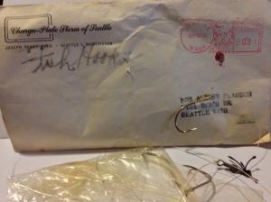 Envelope and FIsh Hooks