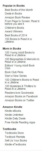 Amazon Book List